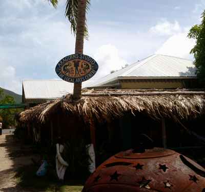 Aragorn's Studio Trellis Bay BVI