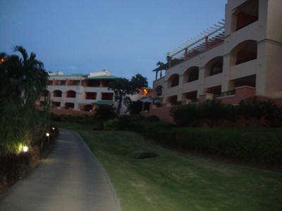 Ritz-Carlton Club St. Thomas at dusk